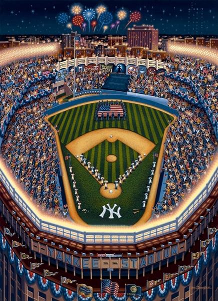 Dowdle - Yankee Stadium Americana Jigsaw Puzzle