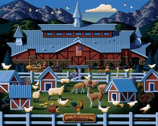 Dowdle - Farm Country, 50 Jigsaw Puzzle