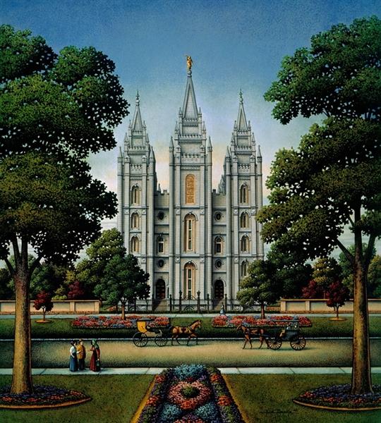 Salt Lake Temple Religious Jigsaw Puzzle