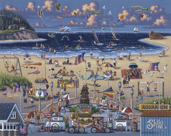 Seaside Beach Jigsaw Puzzle