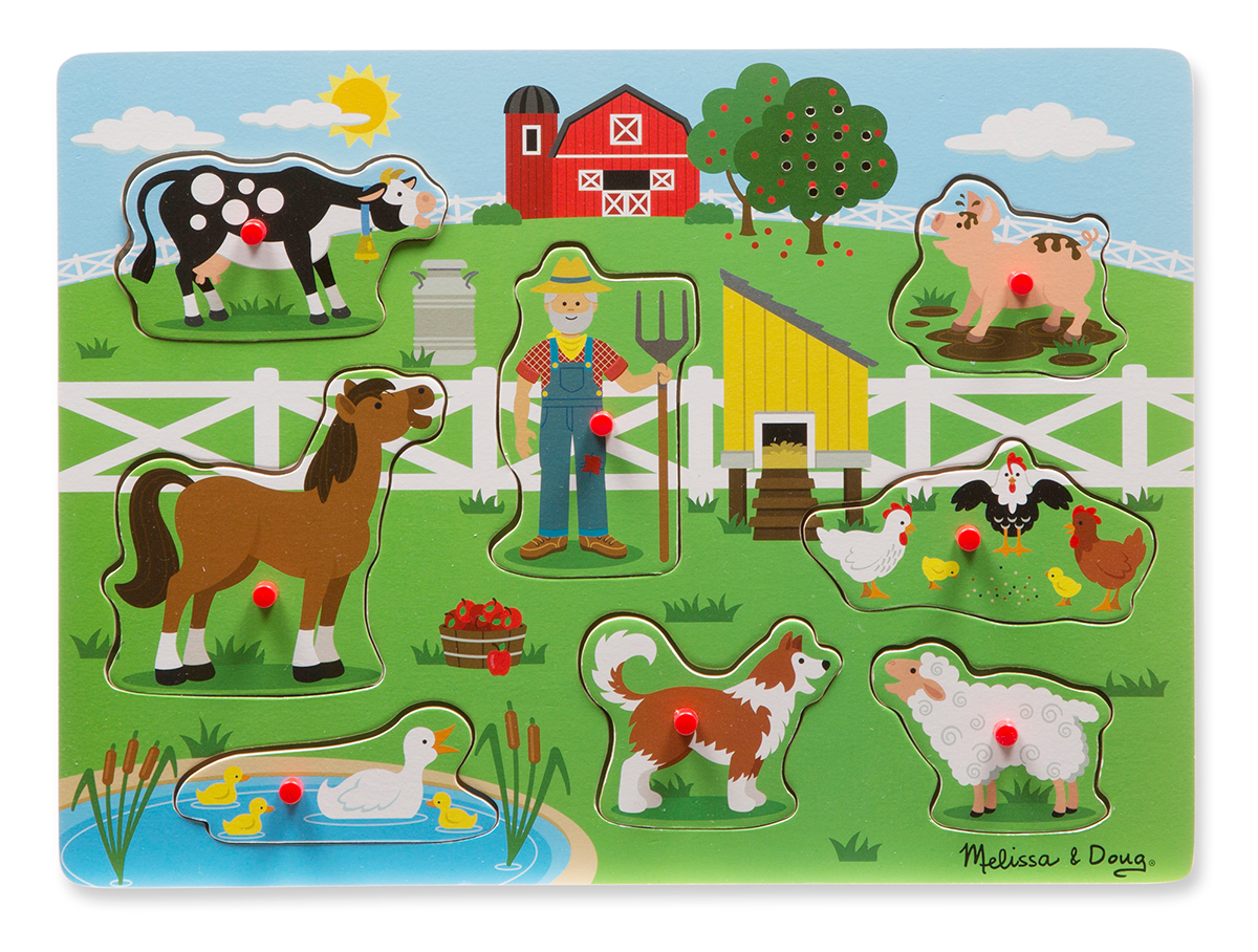 Old McDonald's Farm Farm Jigsaw Puzzle