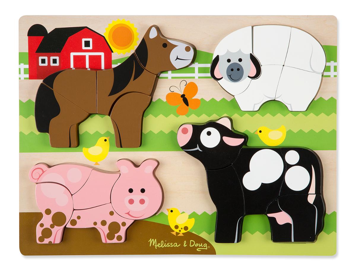 Jumbo Farm Farm Jigsaw Puzzle