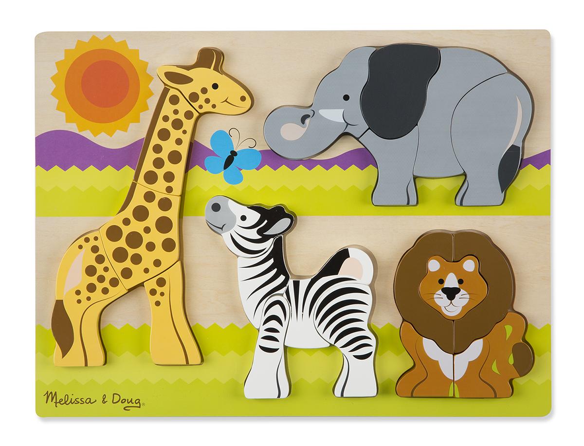 Safari Animals Jigsaw Puzzle