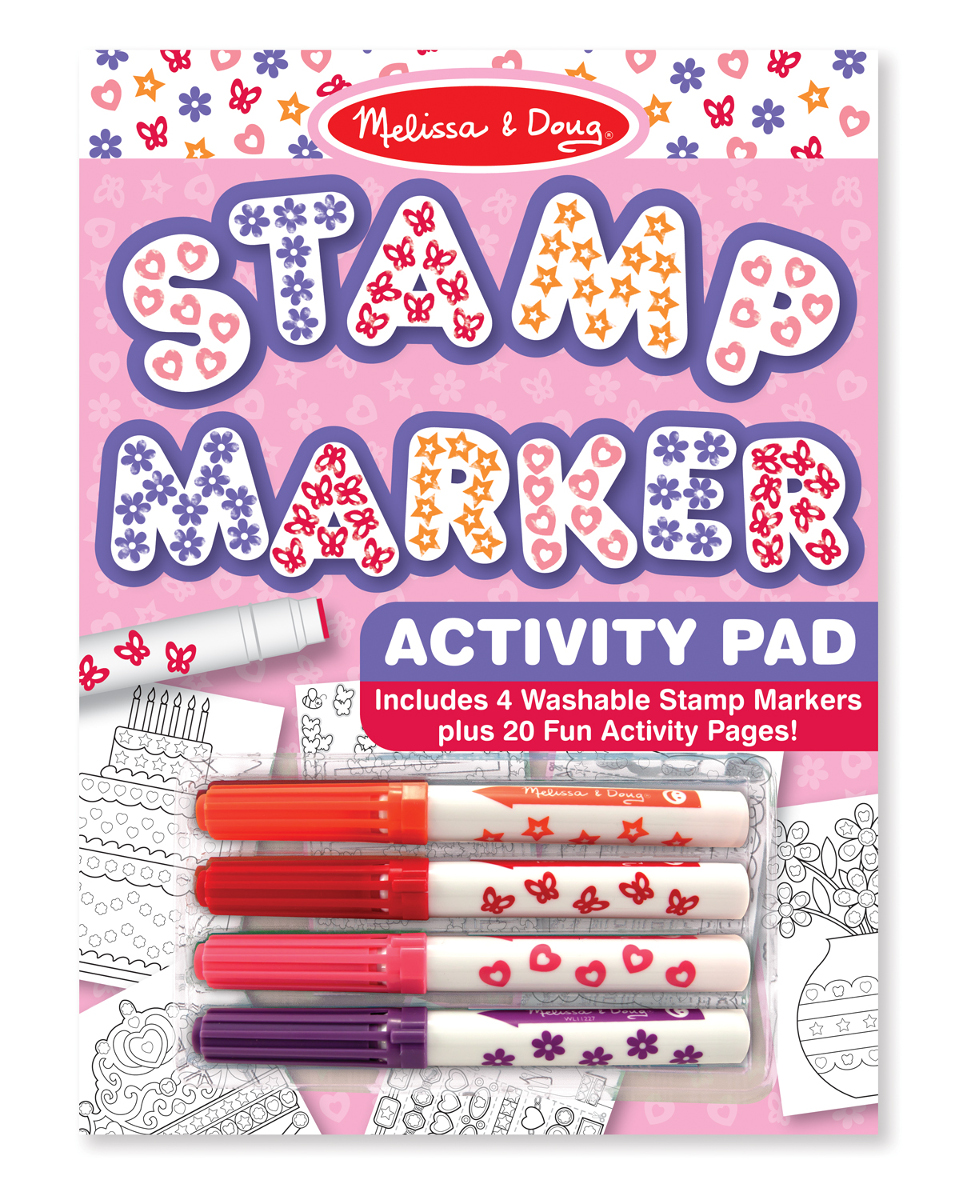 Stamp Marker Activity Pad - Pink