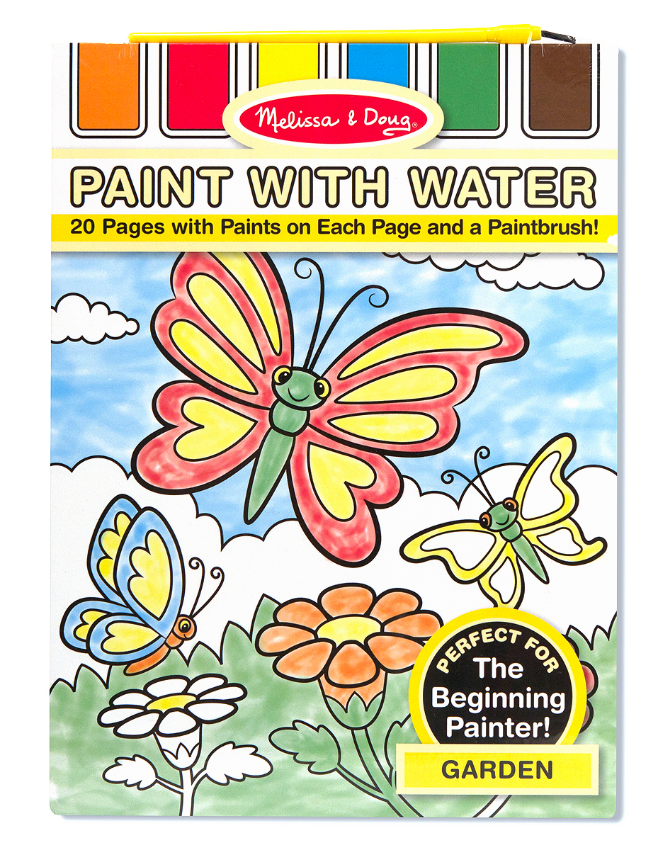 Paint with Water - Garden