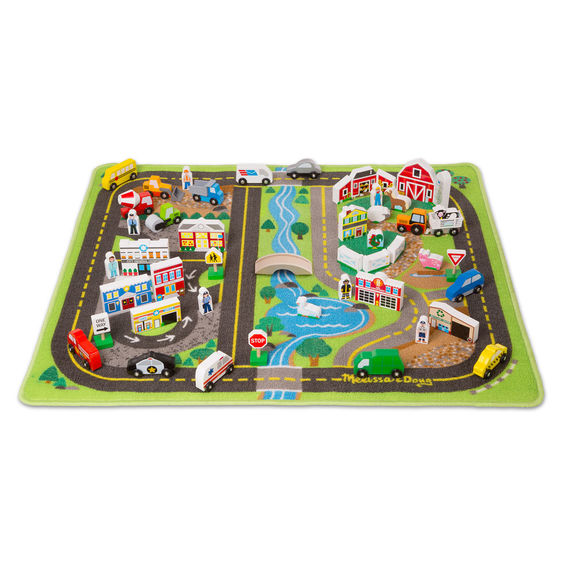 Deluxe Road Rug Play Set - Scratch and Dent