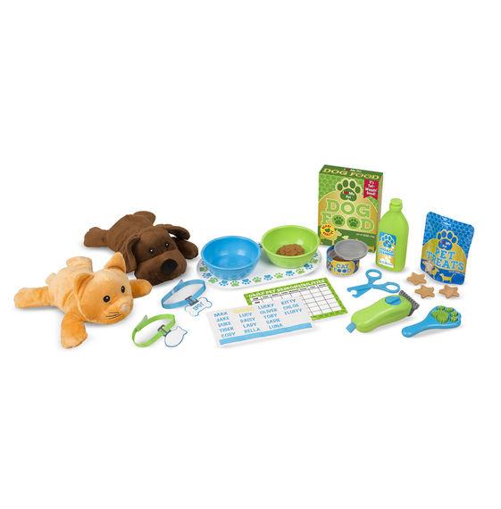 Feeding & Grooming Pet Care Play Set