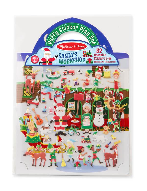 Puffy Sticker Play Set - 'Tis the Season