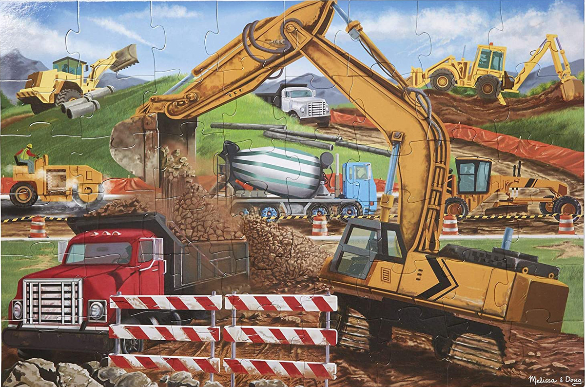 Building Site Construction Jigsaw Puzzle