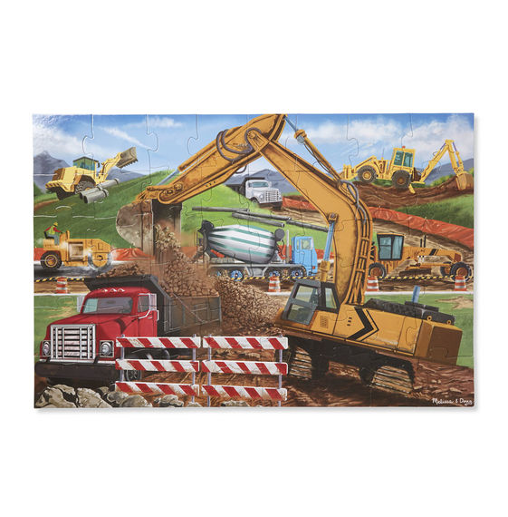 Building Site Construction Jigsaw Puzzle