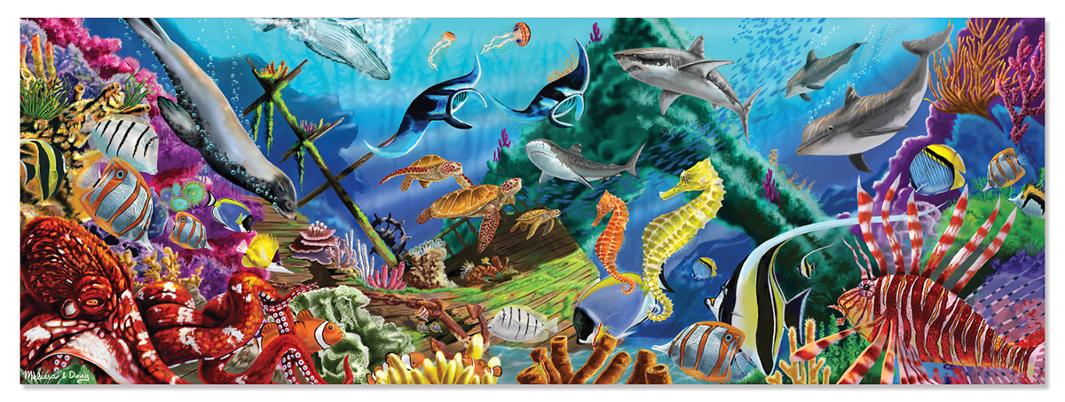 Underwater Oasis Under The Sea Jigsaw Puzzle