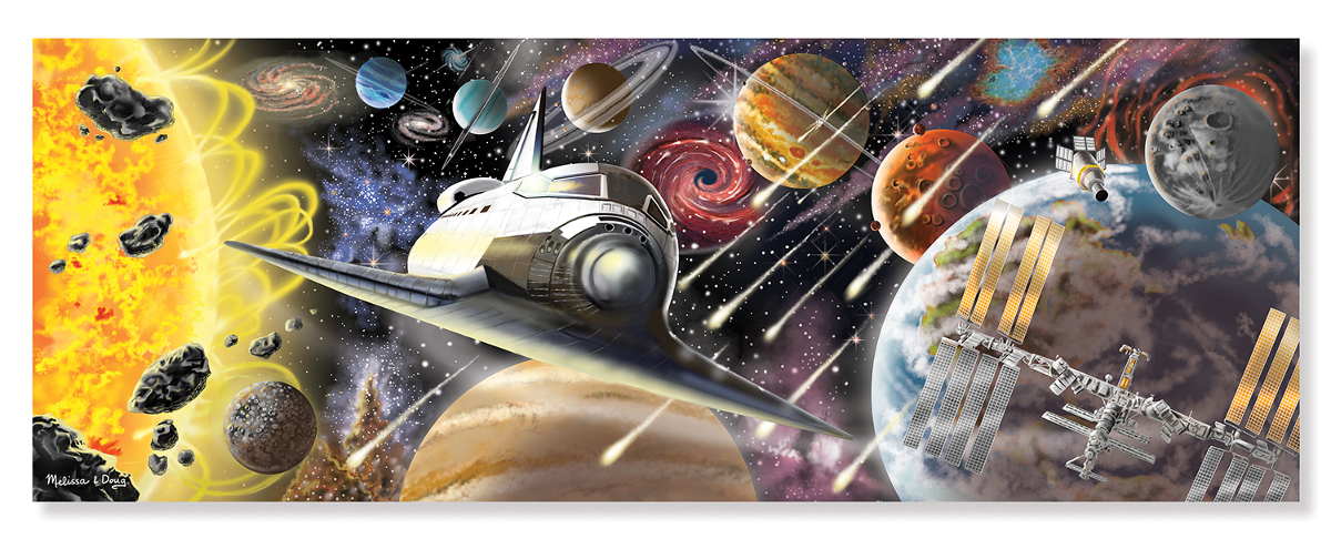 Exploring Space Space Jigsaw Puzzle