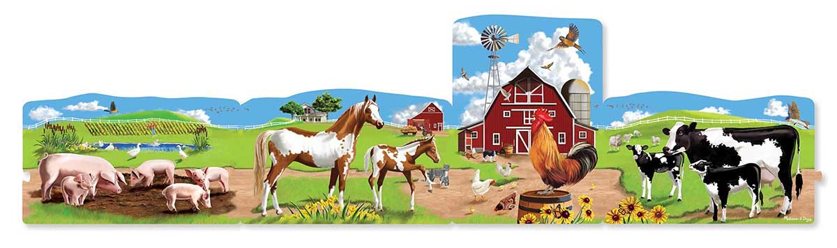 Farm - Scratch and Dent Farm Jigsaw Puzzle