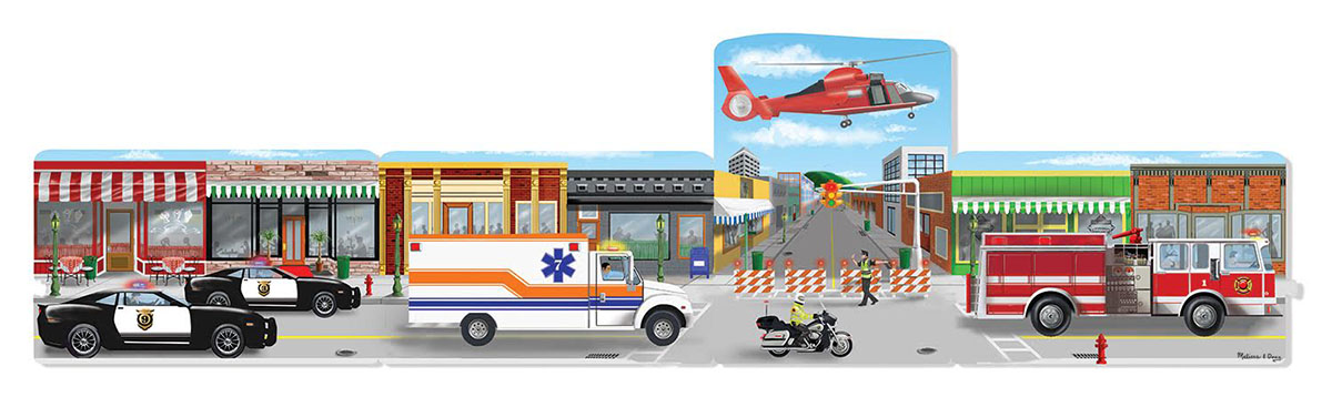 Emergency Rescue Vehicles Jigsaw Puzzle