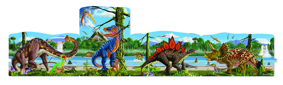 Dinosaurs - Scratch and Dent Dinosaurs Jigsaw Puzzle