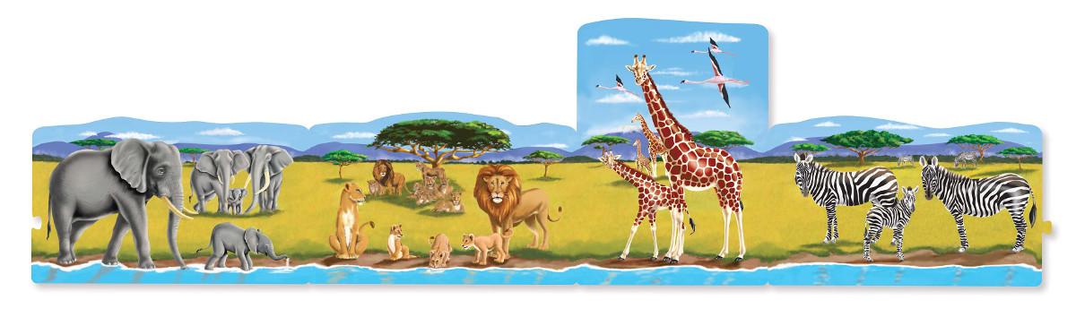 Safari Jungle Animals Jigsaw Puzzle