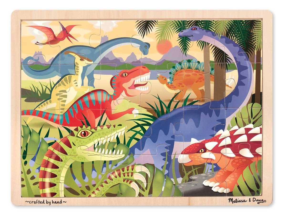 Dinosaur Dinosaurs Jigsaw Puzzle