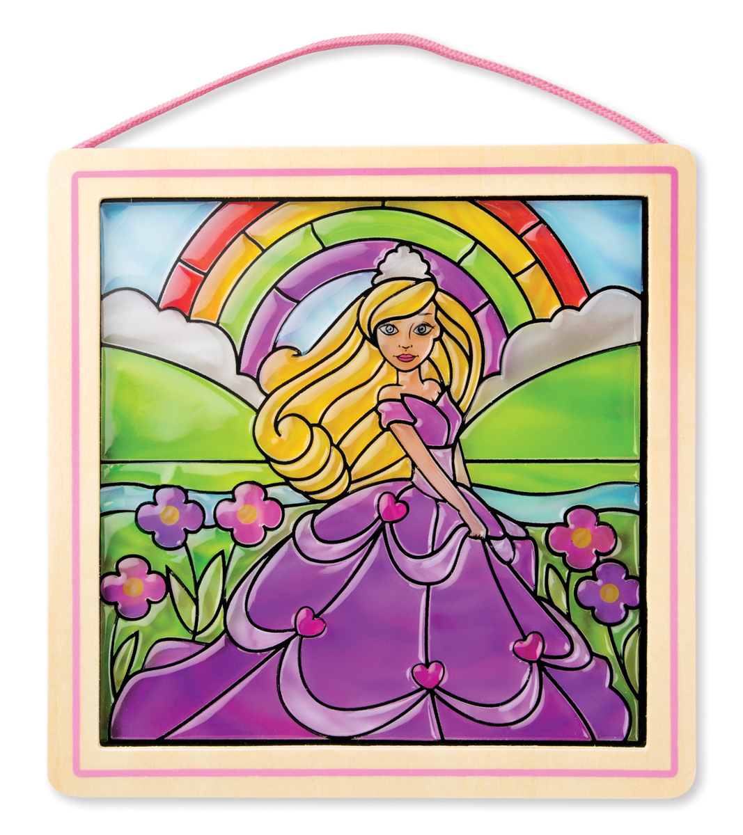 Peel & Press Stained Glass - Princess