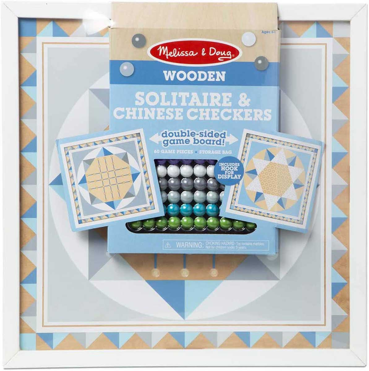 Solitaire & Chinese Checkers - Blue