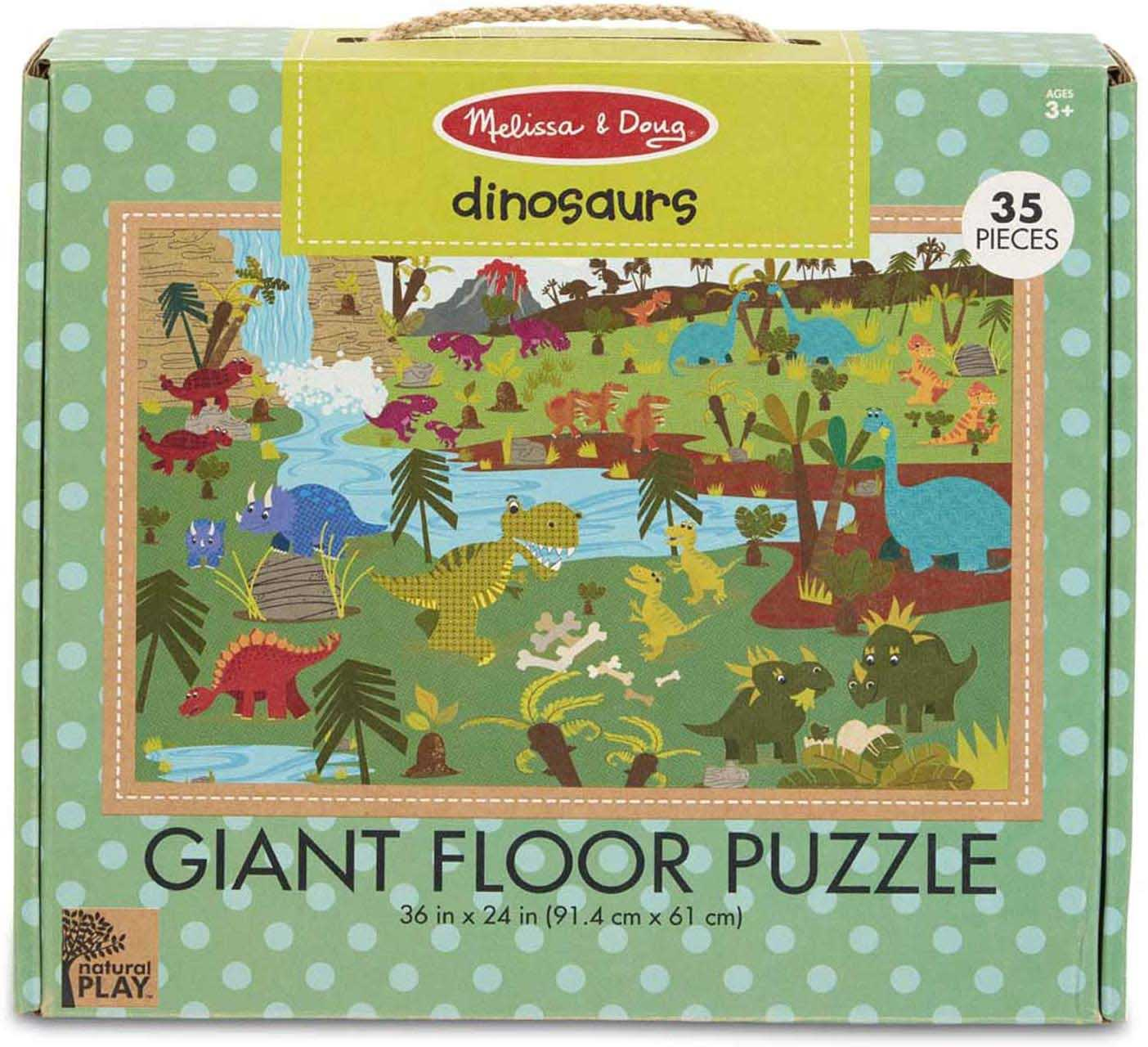 Green Start Giant Floor Puzzle - Dinosaurs Dinosaurs Jigsaw Puzzle