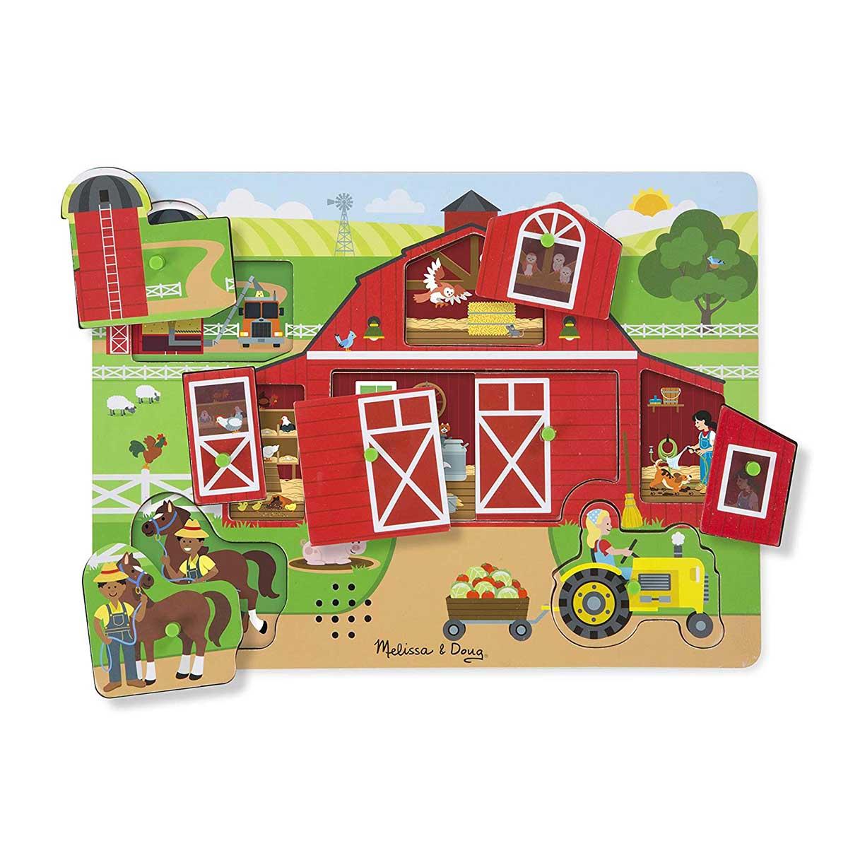 Around the Farm Farm Sound Puzzle