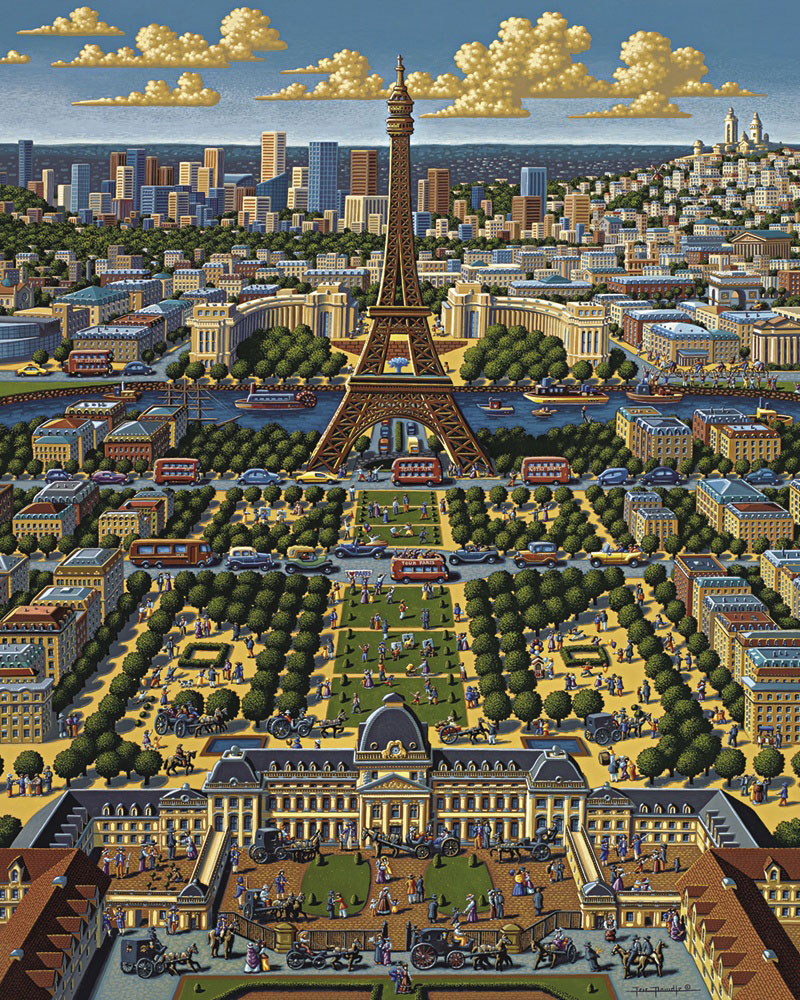 Paris Paris Jigsaw Puzzle