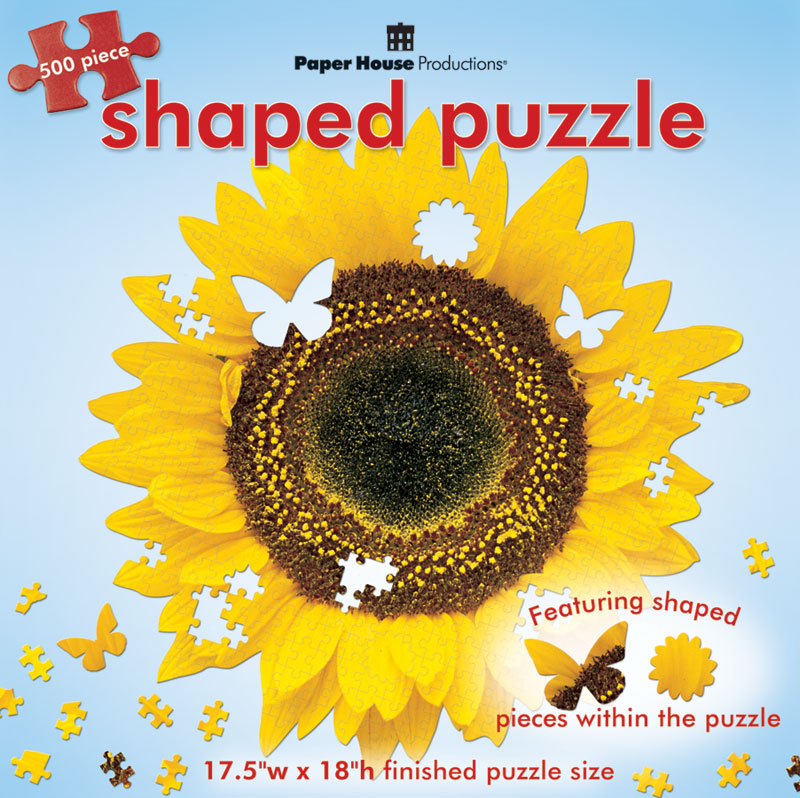 Sunflower Flowers Jigsaw Puzzle