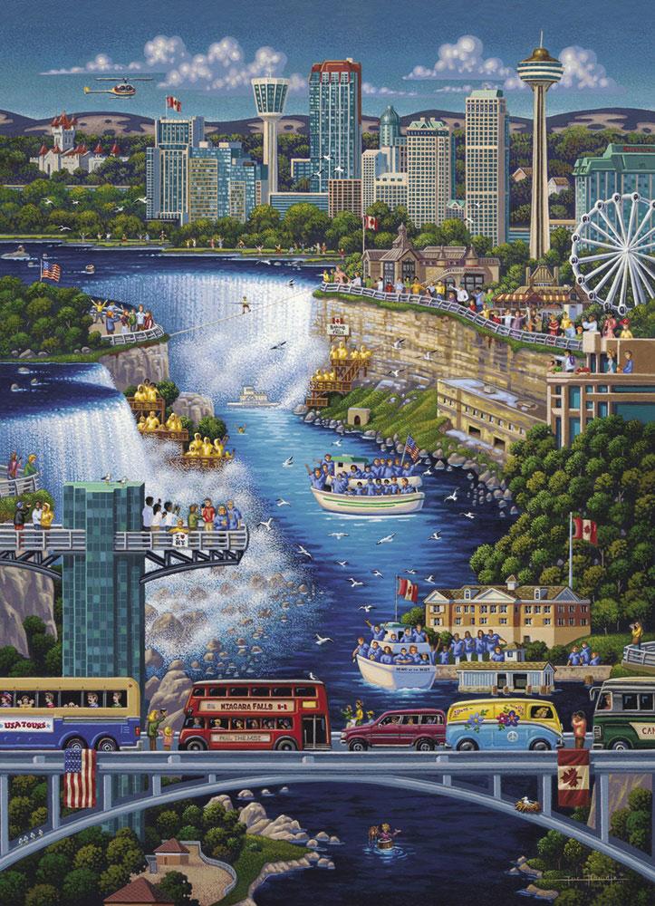 Niagara Falls United States Jigsaw Puzzle