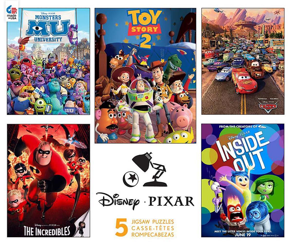 Pixar (Disney 5 in 1) Disney Jigsaw Puzzle