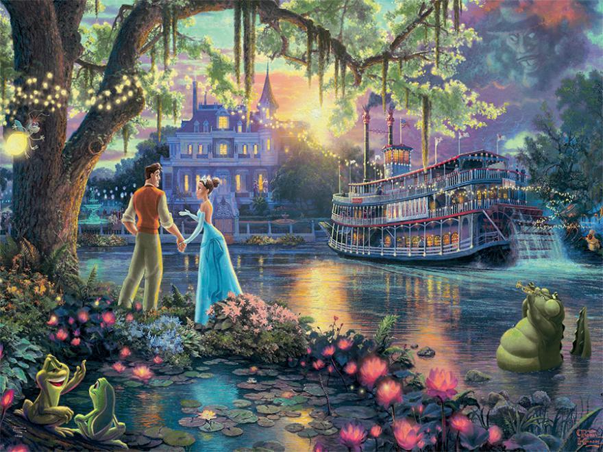 Princess and the Frog (Disney Dreams) Disney Jigsaw Puzzle
