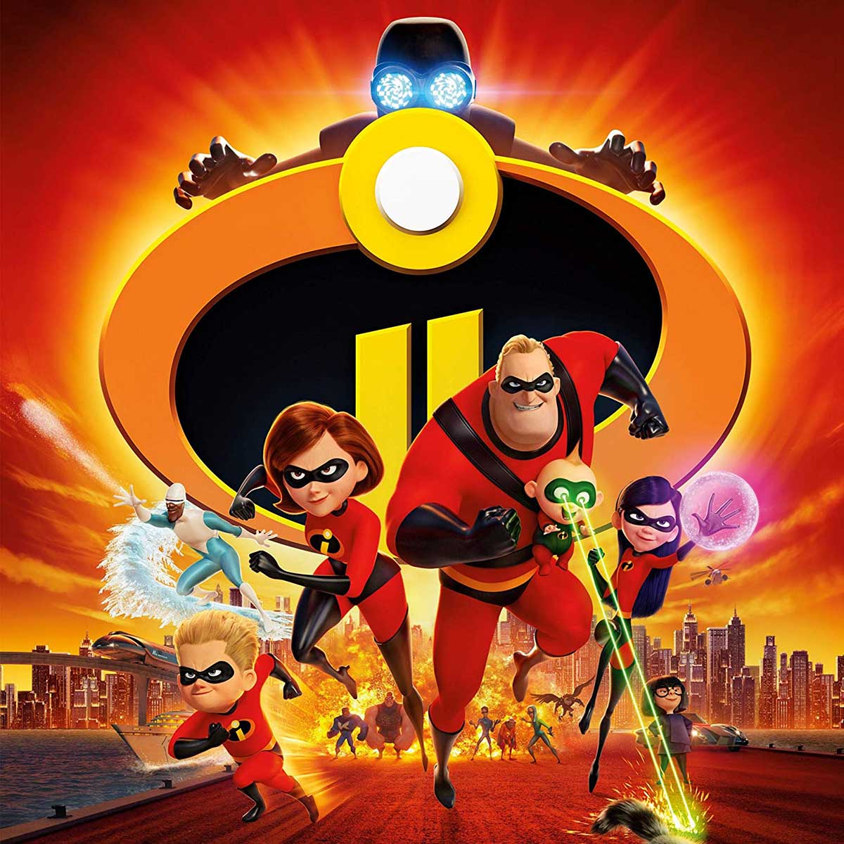 Incredibles 2 Disney Jigsaw Puzzle