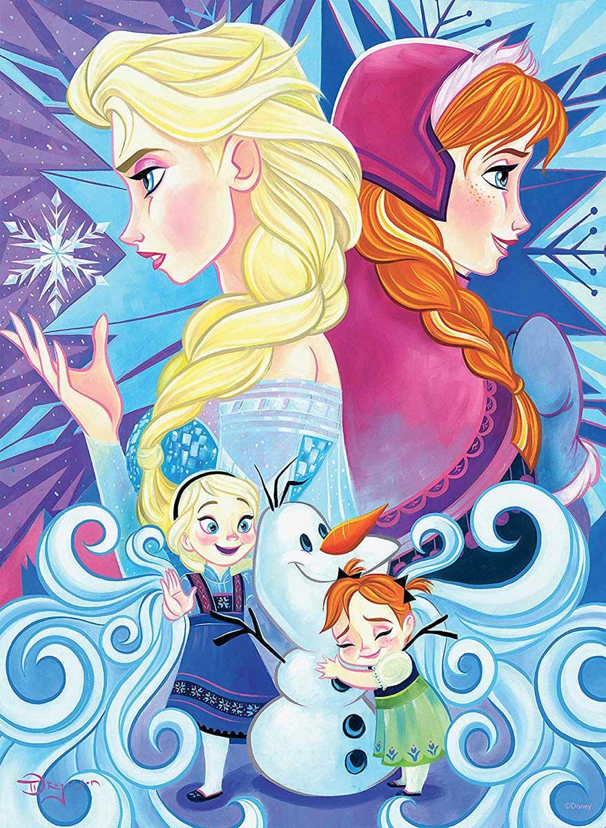 Frozen Disney Jigsaw Puzzle