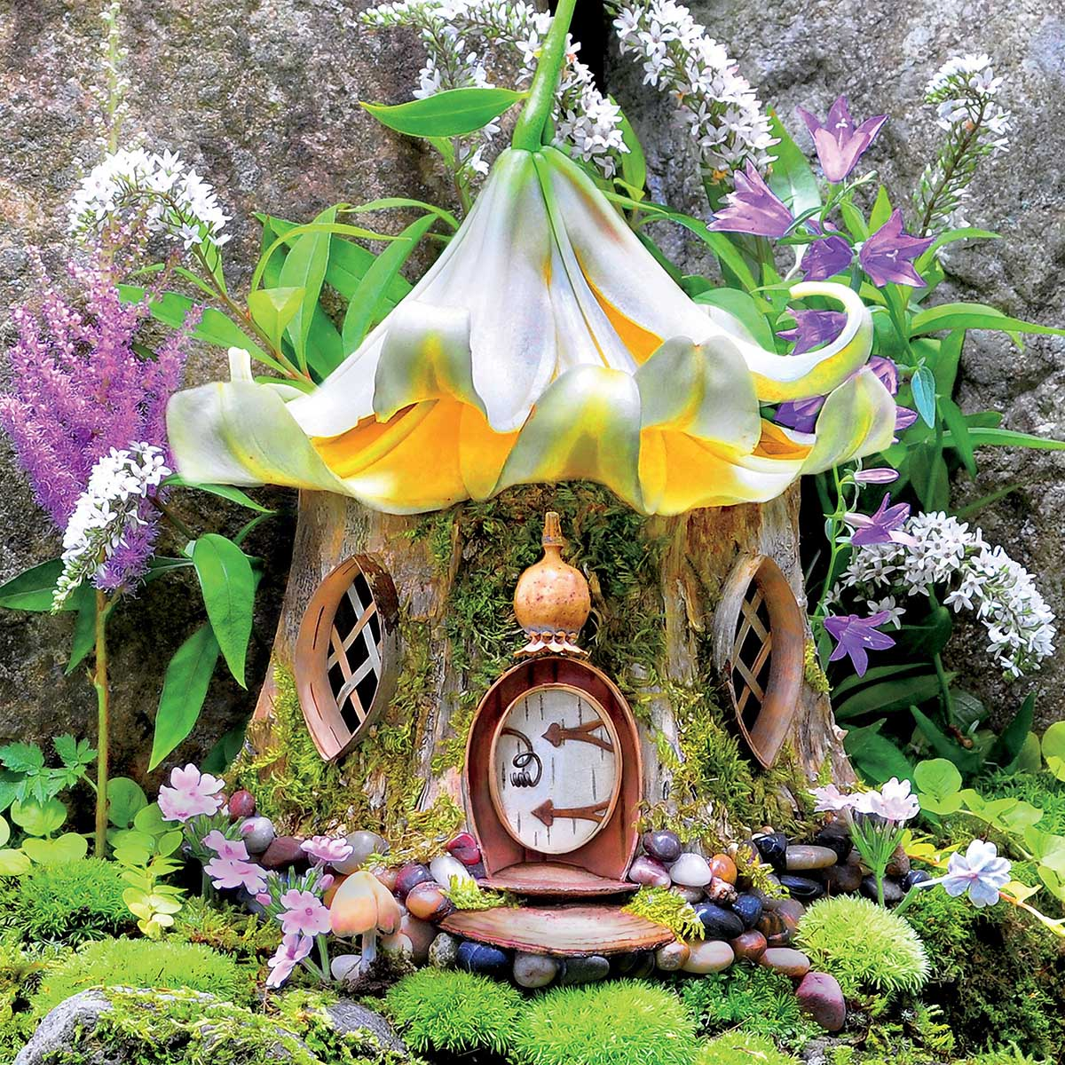 Lily Tea House Fairies Jigsaw Puzzle