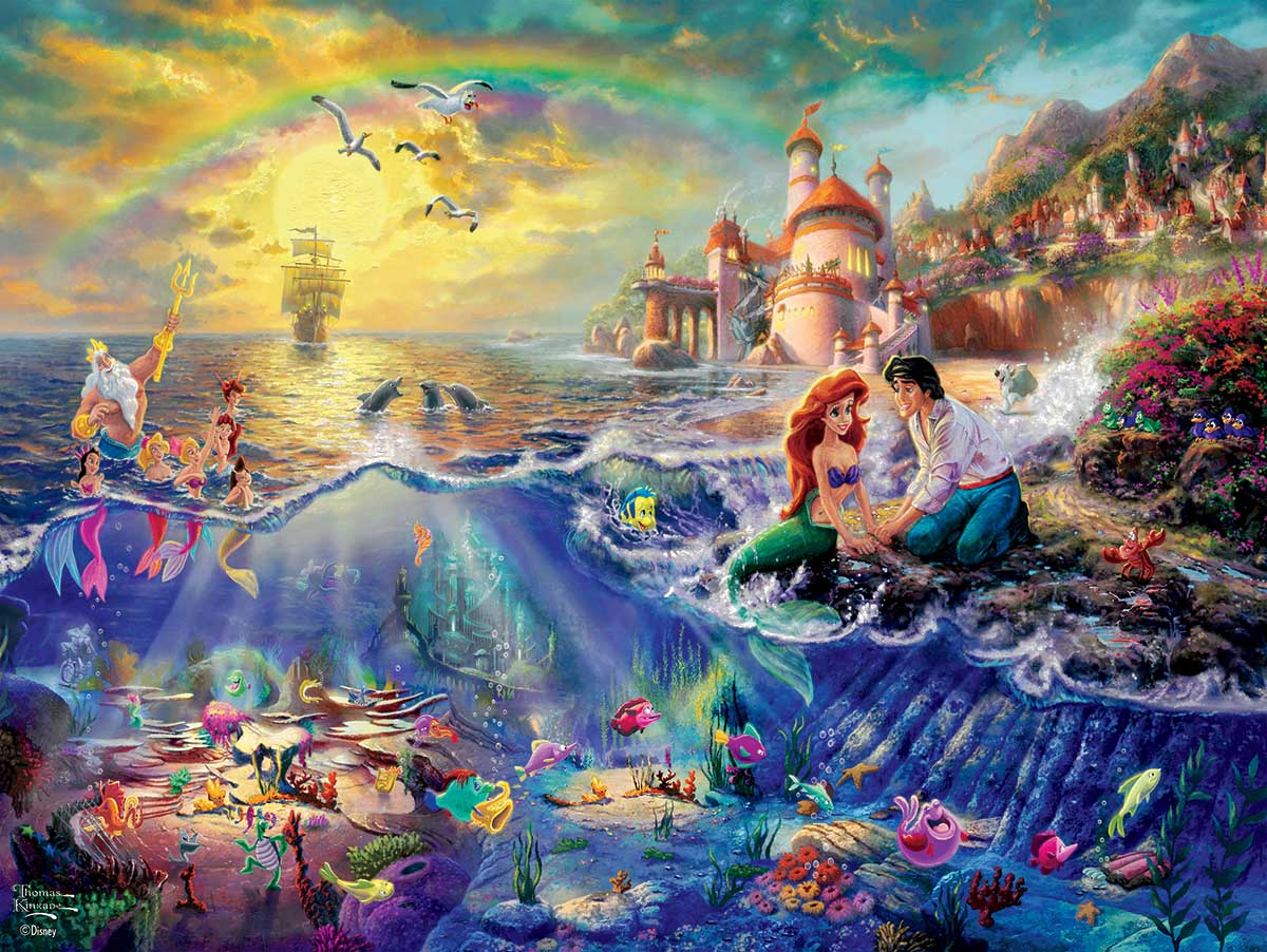 Little Mermaid Disney Jigsaw Puzzle