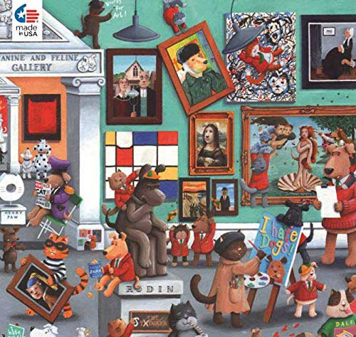 Gallery Cats Jigsaw Puzzle