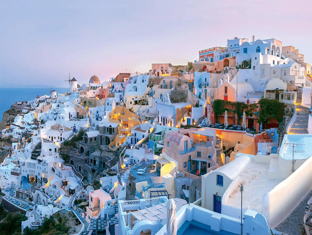 Santorini Travel Jigsaw Puzzle