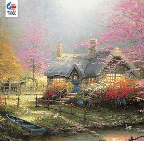 Stepping Stone Forest Jigsaw Puzzle