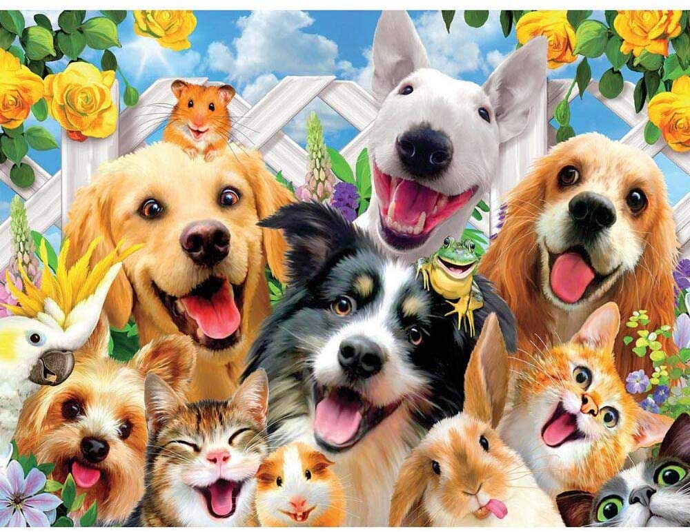 Backyard Pals Animals Jigsaw Puzzle