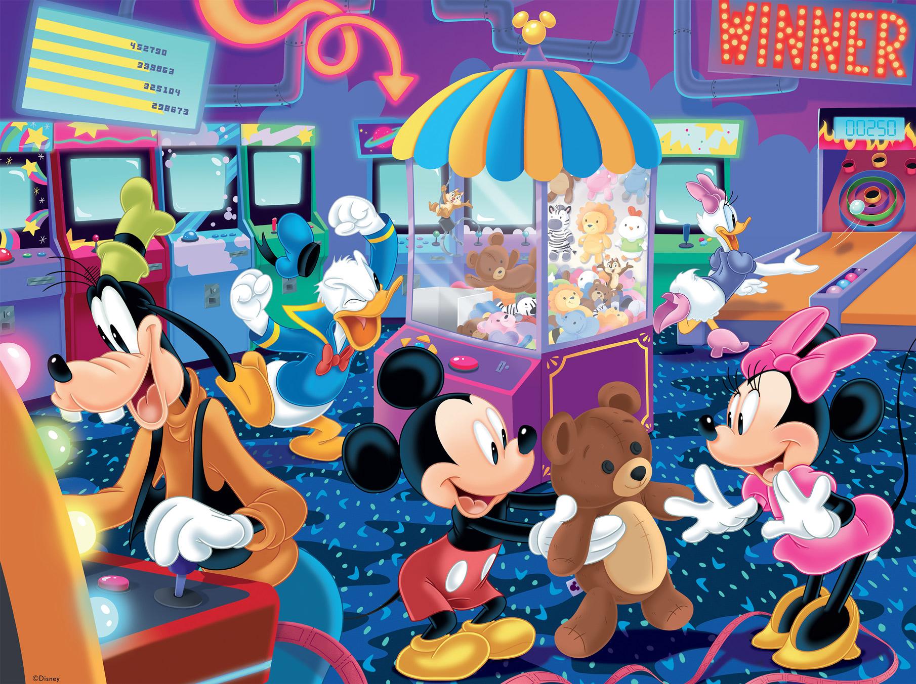 Disney Arcade Series Disney Jigsaw Puzzle