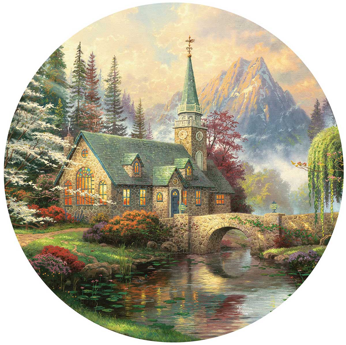 Dogwood Chapel Religious Shaped Puzzle