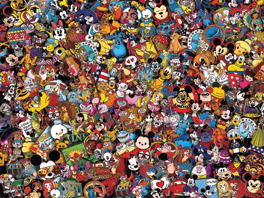 Pins (Disney) Disney Jigsaw Puzzle