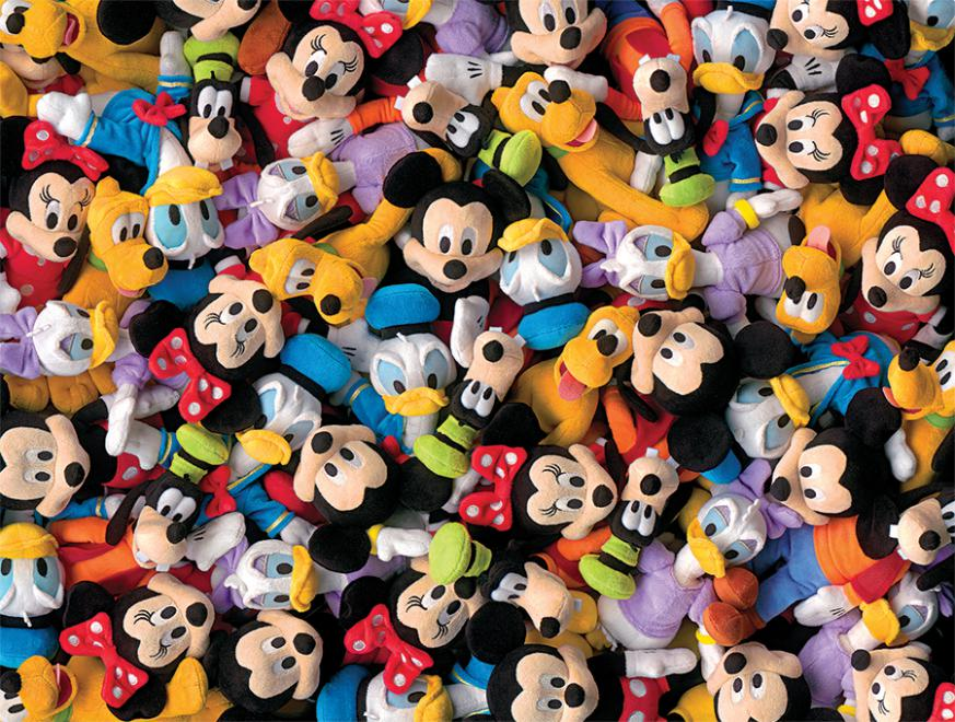 Plush (Disney) Disney Jigsaw Puzzle