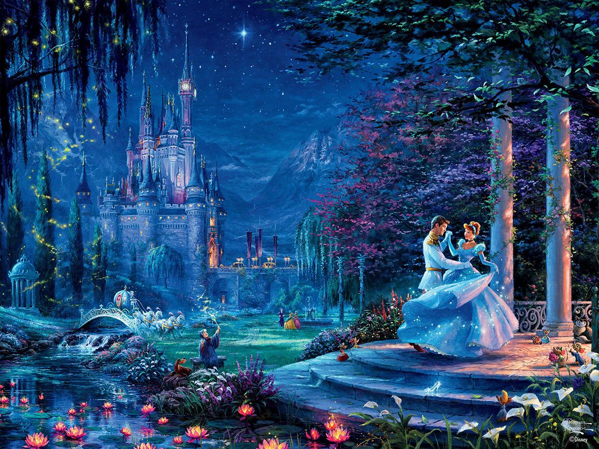 Cinderella Starlight - Thomas Kinkade Disney Dreams Disney Jigsaw Puzzle