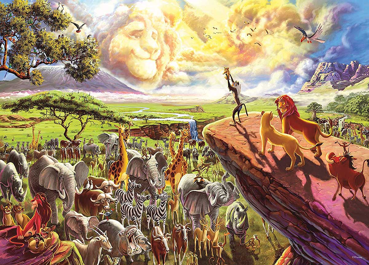The Lion King Disney Jigsaw Puzzle