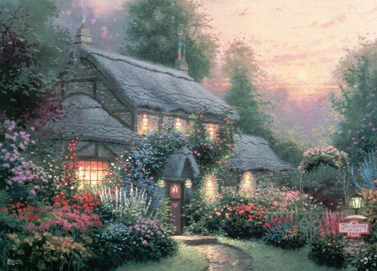 Julianne's Cottage Cottage / Cabin Jigsaw Puzzle