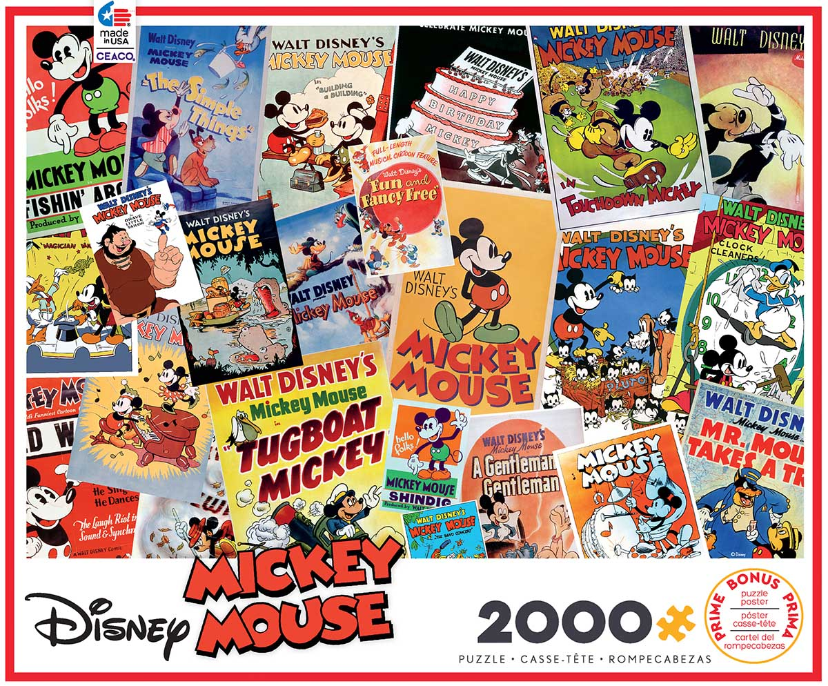 Mickey Mouse Disney Jigsaw Puzzle