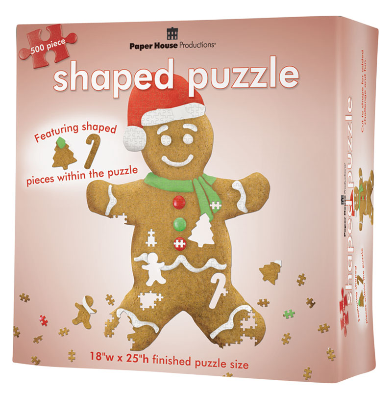 Gingerbread Man Christmas Jigsaw Puzzle
