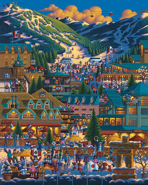 Whistler Travel Jigsaw Puzzle