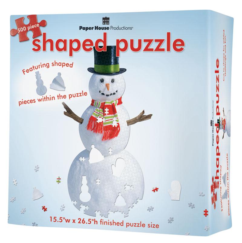 Snowman Christmas Jigsaw Puzzle