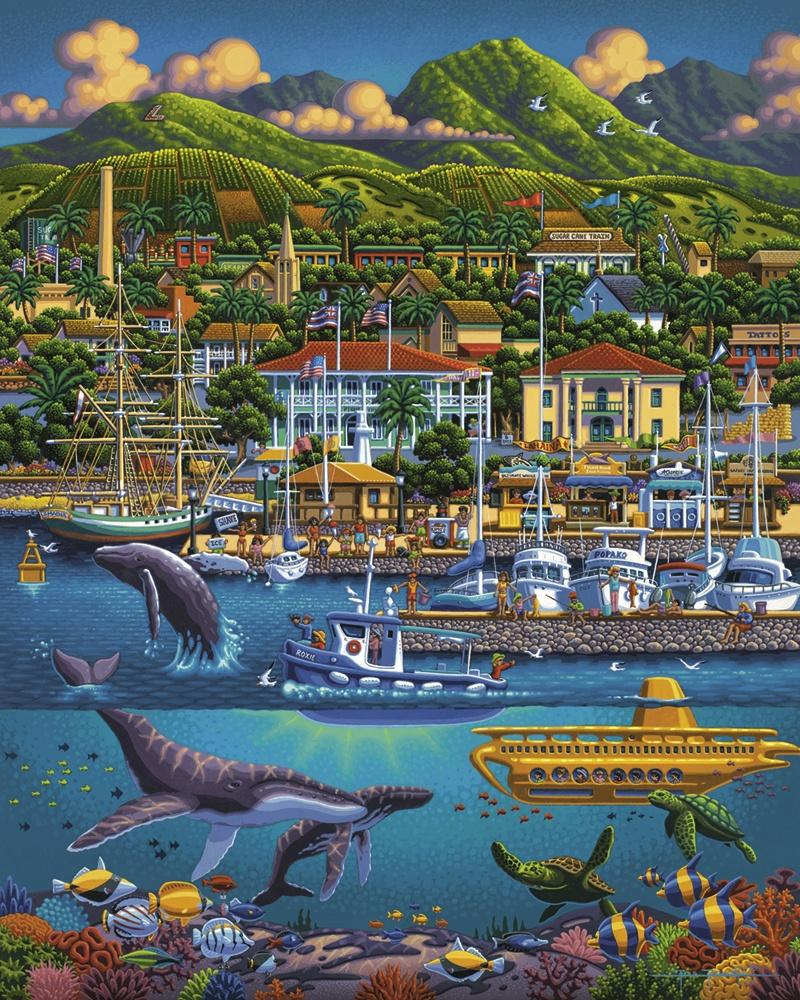 Maui Dolphins Jigsaw Puzzle